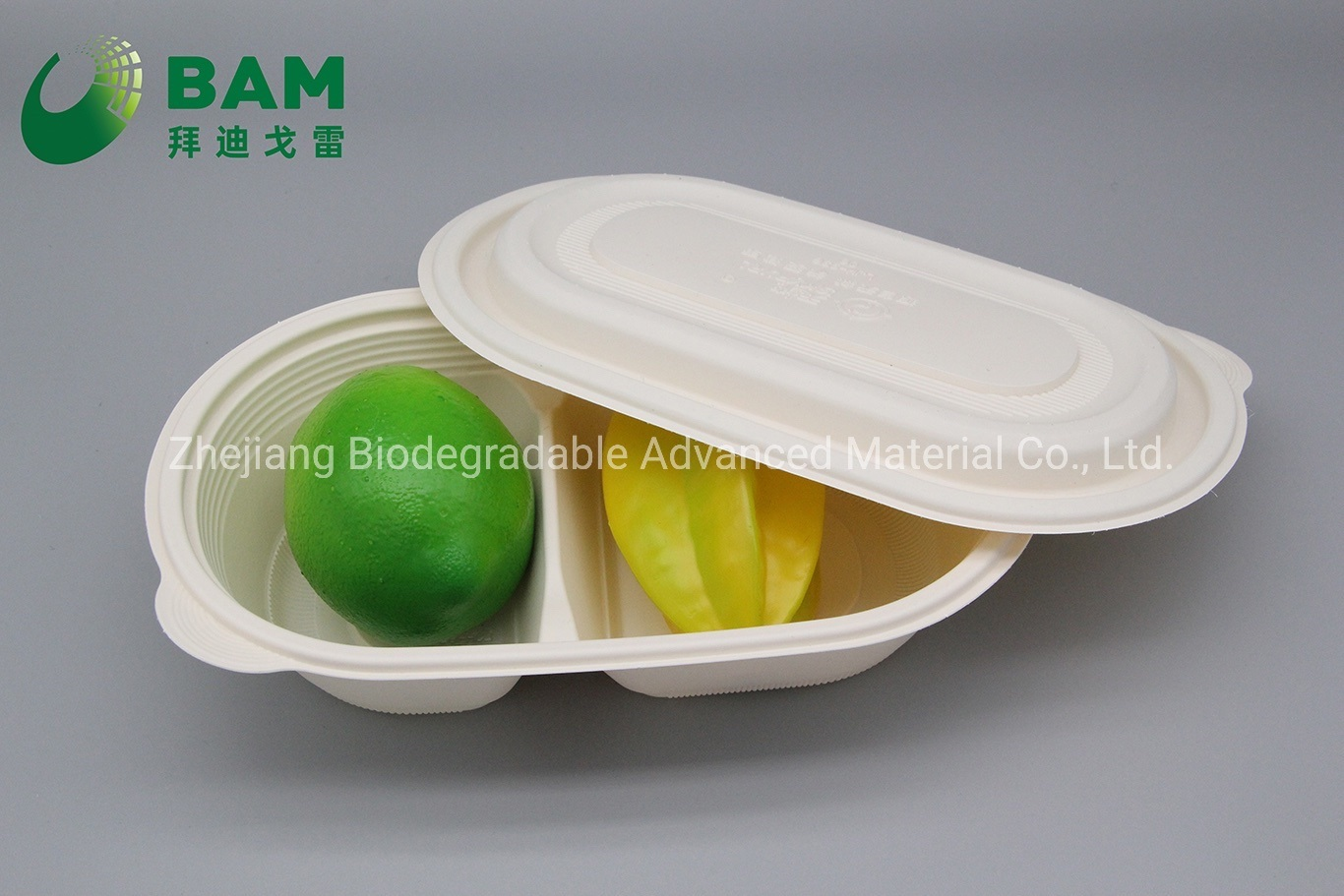 China Fully Biodegradable 2 Compostable Sugarcane Snack Store Takeaway Food Plastic Packaging Containers For Dun Dessert China Disposable Tableware And Recycle Tableware Price