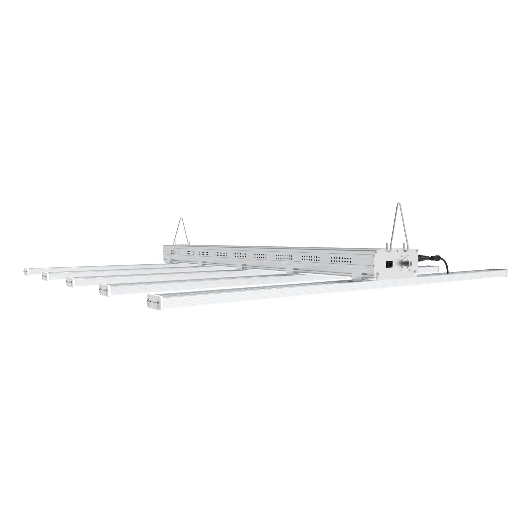 800W-400W Dimmable LED Grow Light Full Spectrum 660nm High PPFD VS Fluence Spydr