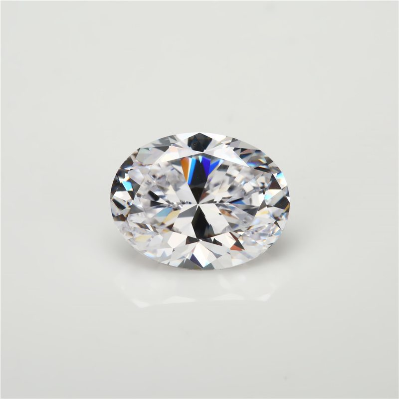 Aaaaa Best Quality 5A Oval Shaped Cubic Zirconia Stone