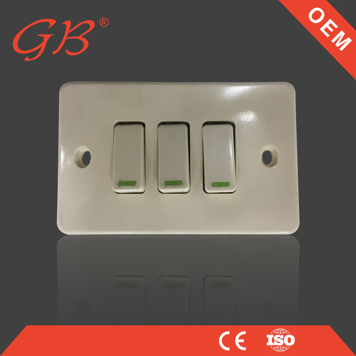 China Electrical Wall Switch South American Electric Switch - China ...