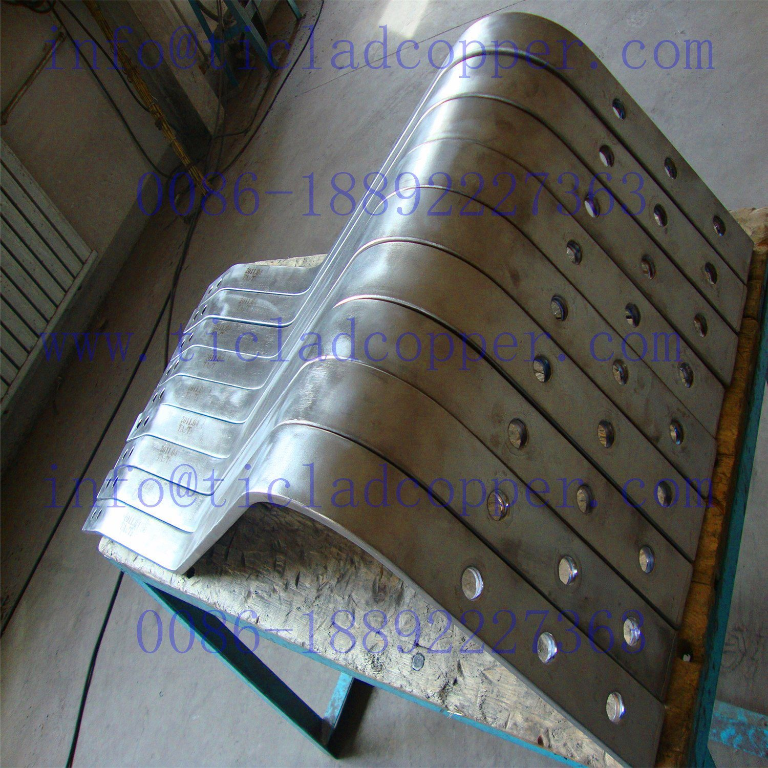 Titanium Clad Copper Composite Metal Drum Bar for Electrochemical Industry pictures & photos