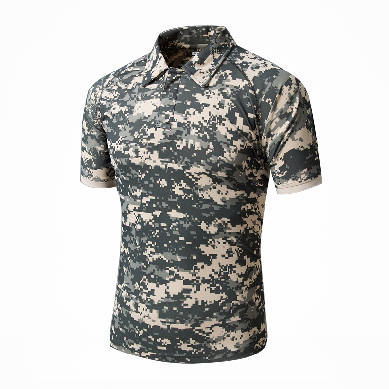 Summer Quick-Dry Sunscreen Tactical Combat T-Shirt