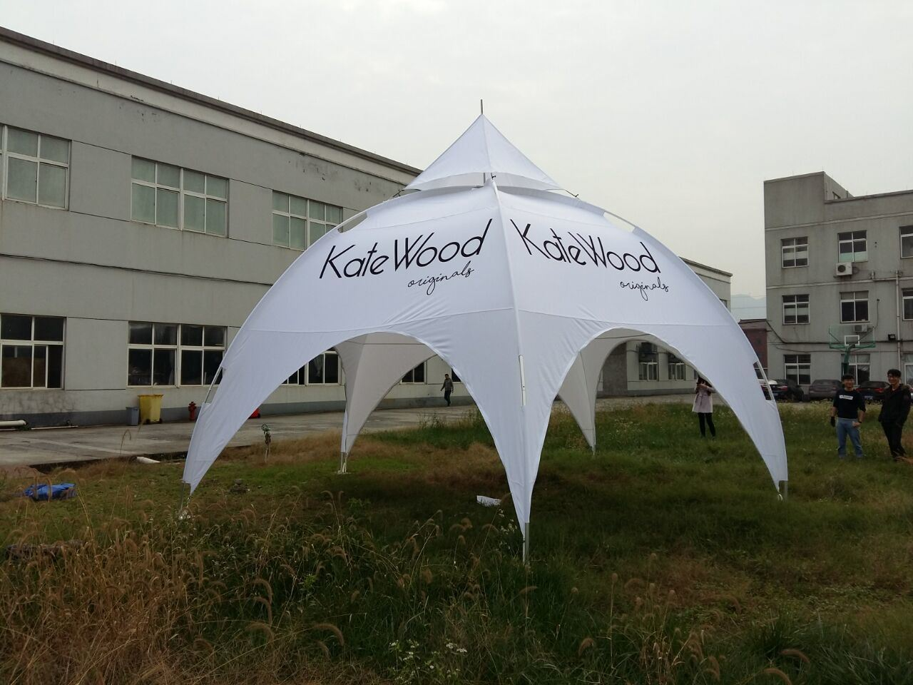 Hangzhou Yimu Display Products Co. Ltd. & China 3mx3m White Commercial Arch Tents/Large Outdoor Event Tents ...