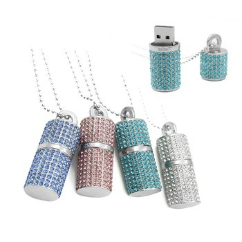 Pendrive USB Flash Drive Pen Drive 32GB Diamond Crystal pictures & photos