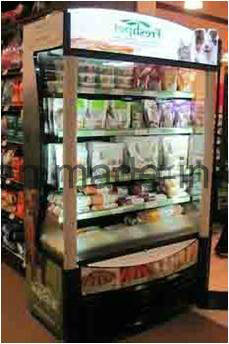 America Style Slim Line Open Air Chiller with ETL/Approved, Go&Grab pictures & photos