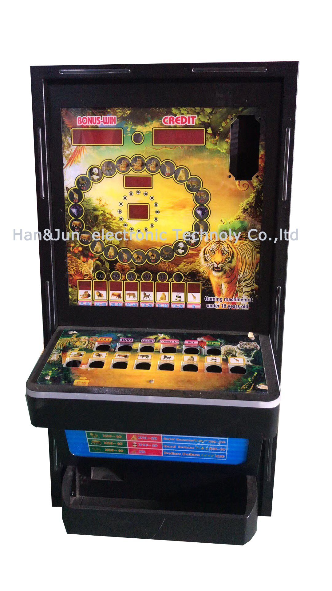 Africa Hot Sale Coin Operated Slot Glambing Casino Arcade Game Machine pictures & photos