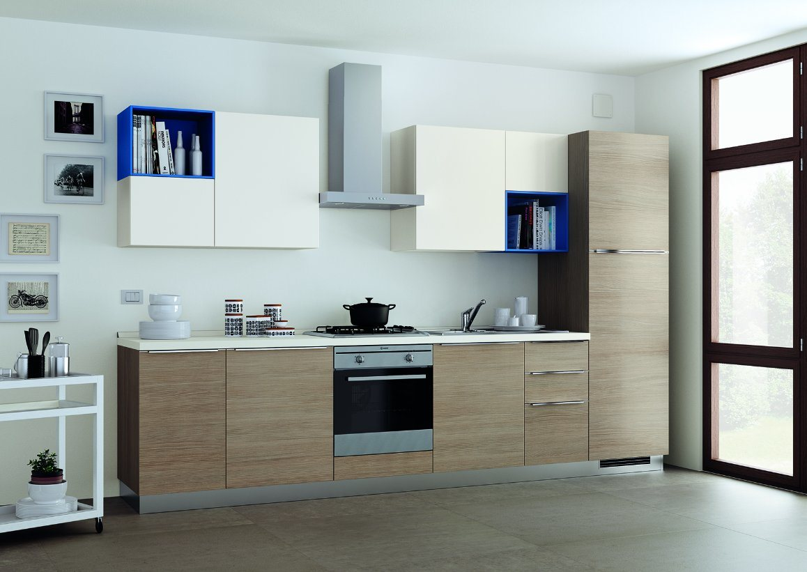 China Small Kitchen Design Simple Kitchen Cupboard Photos & Pictures ...