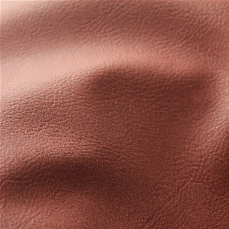 China Embossed Semi PU Leather Synthetic Leather Home Textile (807#) pictures & photos