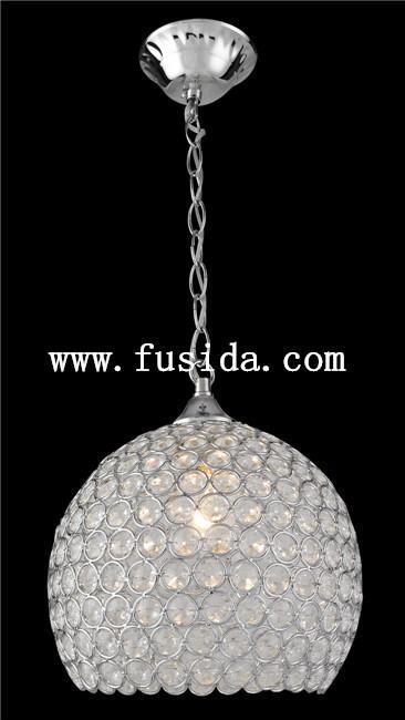 Crystal Ball Pendant Lighting