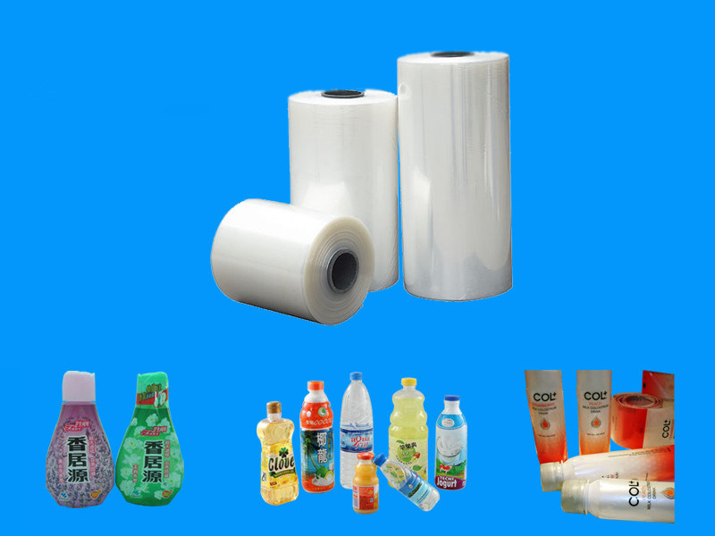 PVC Shrink Film for Water Bottle Label pictures & photos