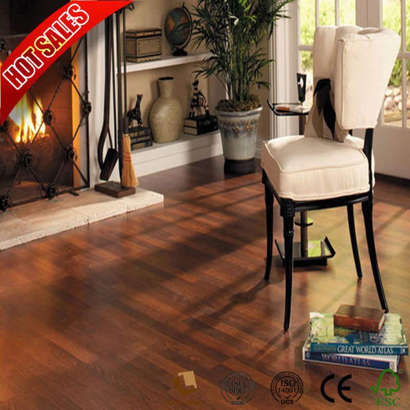 Best Brand Laminate Wood Flooring 8mm Dark Gris En China Hardwood Building Material