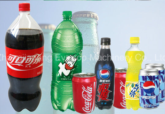 Bottle/Can Soda Drink Filling Machine/Equipment/Production Line pictures & photos