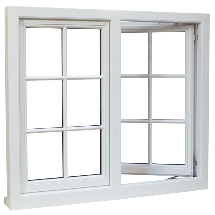 Double Glazing Window, Glass Window, Aluminum Casement Window with AS/NZS2208