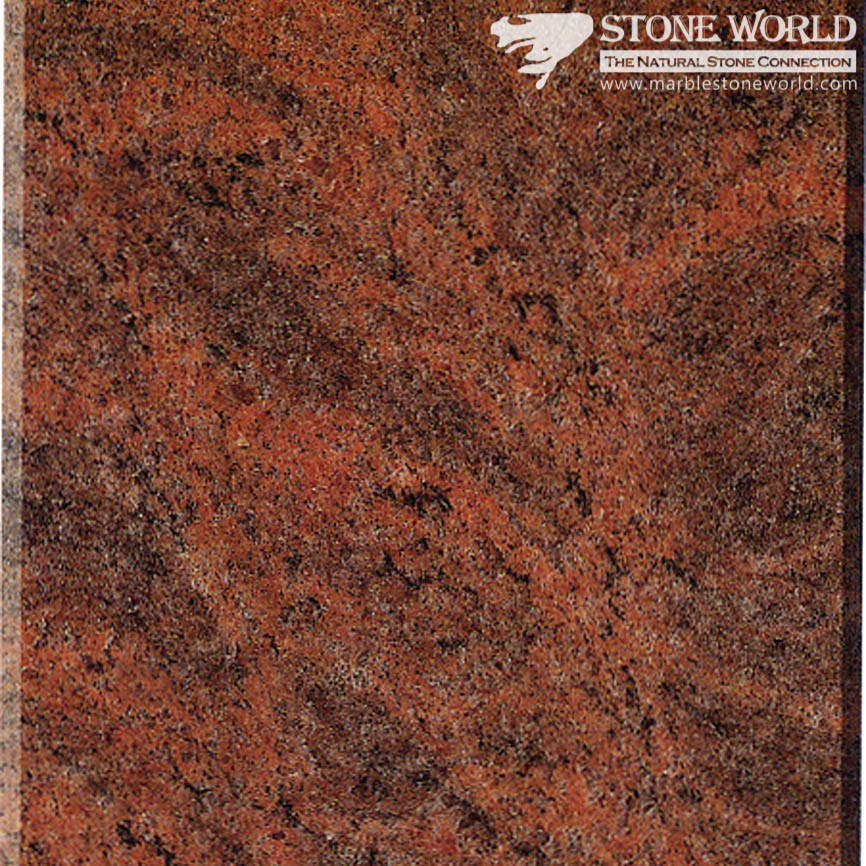 China Polished Multicolor Red Granite Tiles For Flooring Wall Mt047