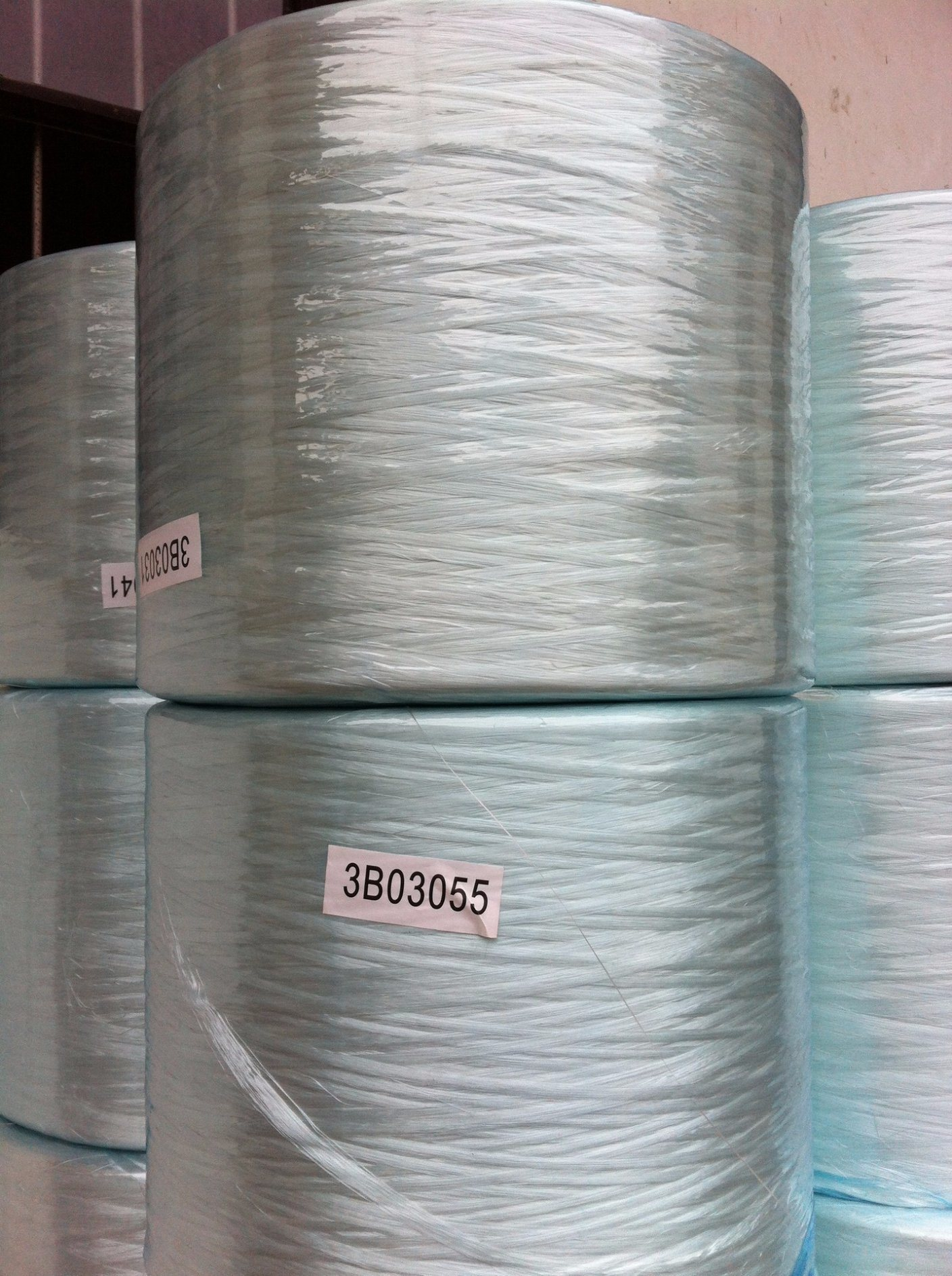 China Fiberglass Continuous Direct Roving for Weaving with Trade ...