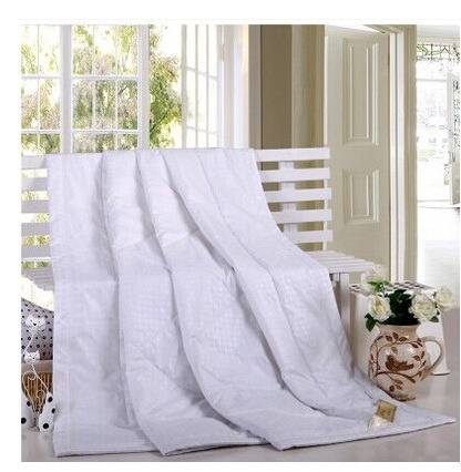 Cotton Silk Summer Cool Thin Quilt, Close Skin Naked Sleep Necessary Quilt pictures & photos