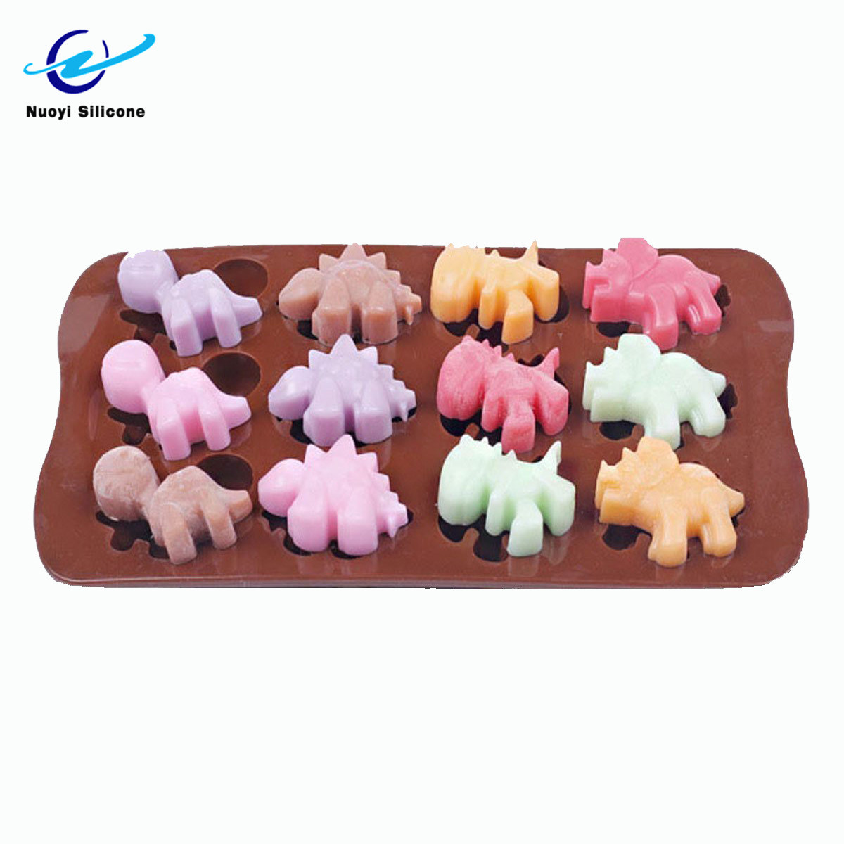 Dinosaur Soap Mould Cake Chocolate Cookies Baking Tool Candle Mold Ice Cube