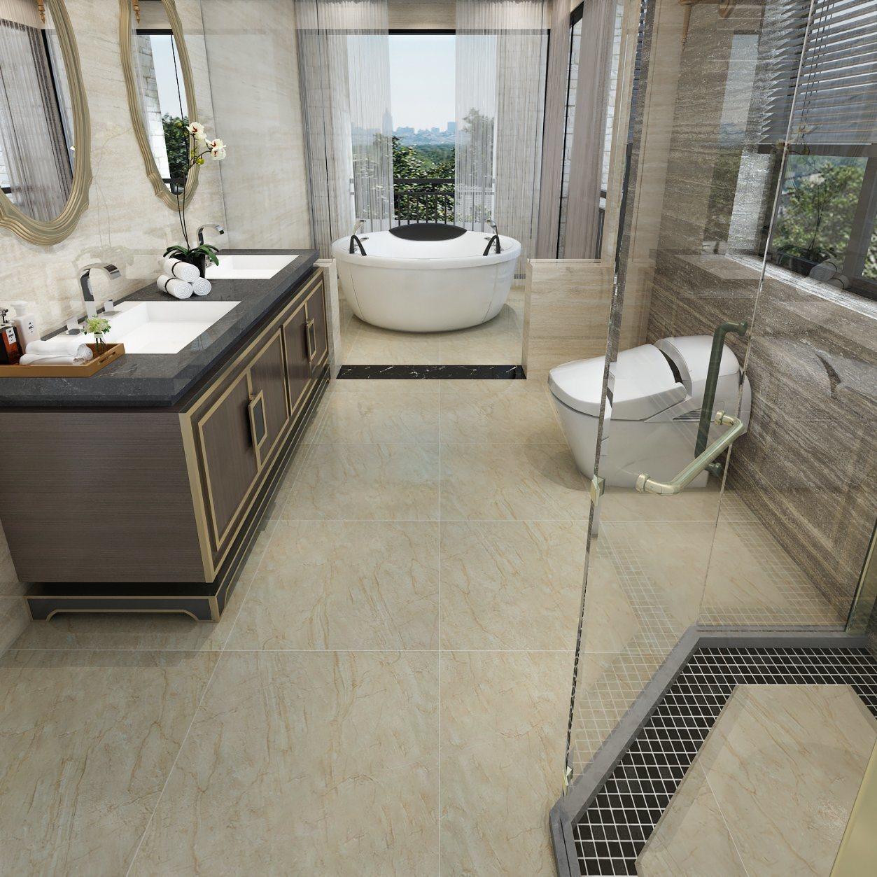 Bathroom Floor China Porcelain Tile, Is Glazed Ceramic Tile Good For Bathroom Floor