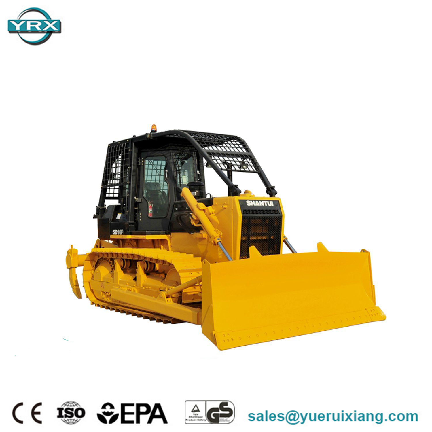China Shantui Small Dozers for Sale Price SD16f 120kw New Crawler
