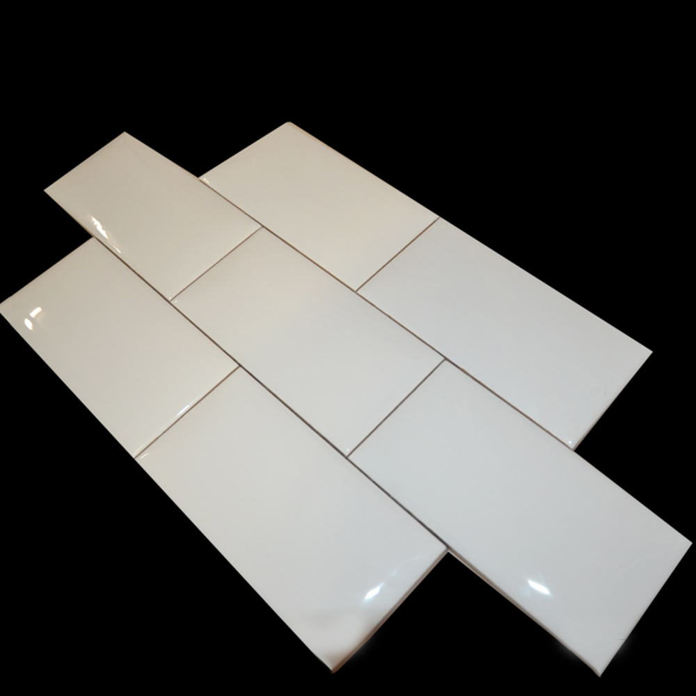 - China 75X150mm Elegant White Color Houzz Kitchen Backsplash Subway