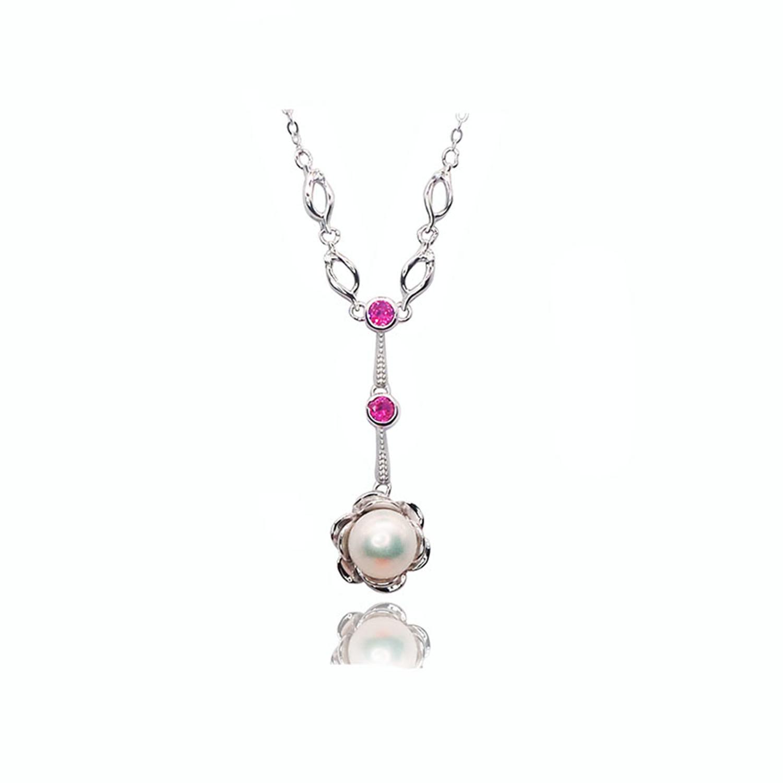 CS-DB Pendants Pearl Choker Birthday Silver Necklaces