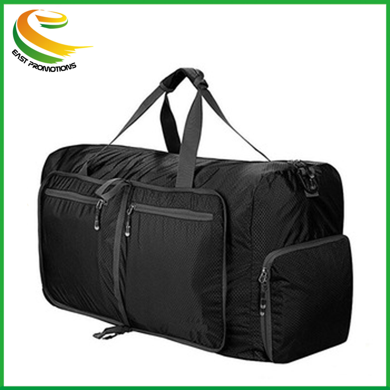 5a1f70e87f8 Foldable Travel Duffel Bag Luggage Sports Gym Water Resistant Nylon  Waterproof Bag