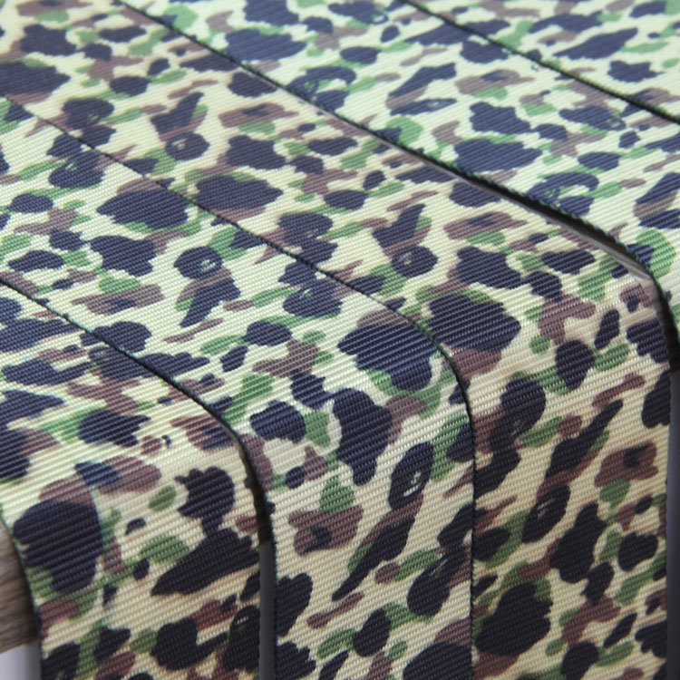 5cm Polyester Military Camouflage Webbing