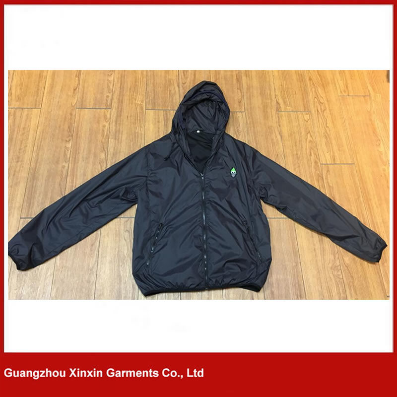 Custom Printed Cheap Light Weight Advertising Jacket Coat (J166) pictures & photos