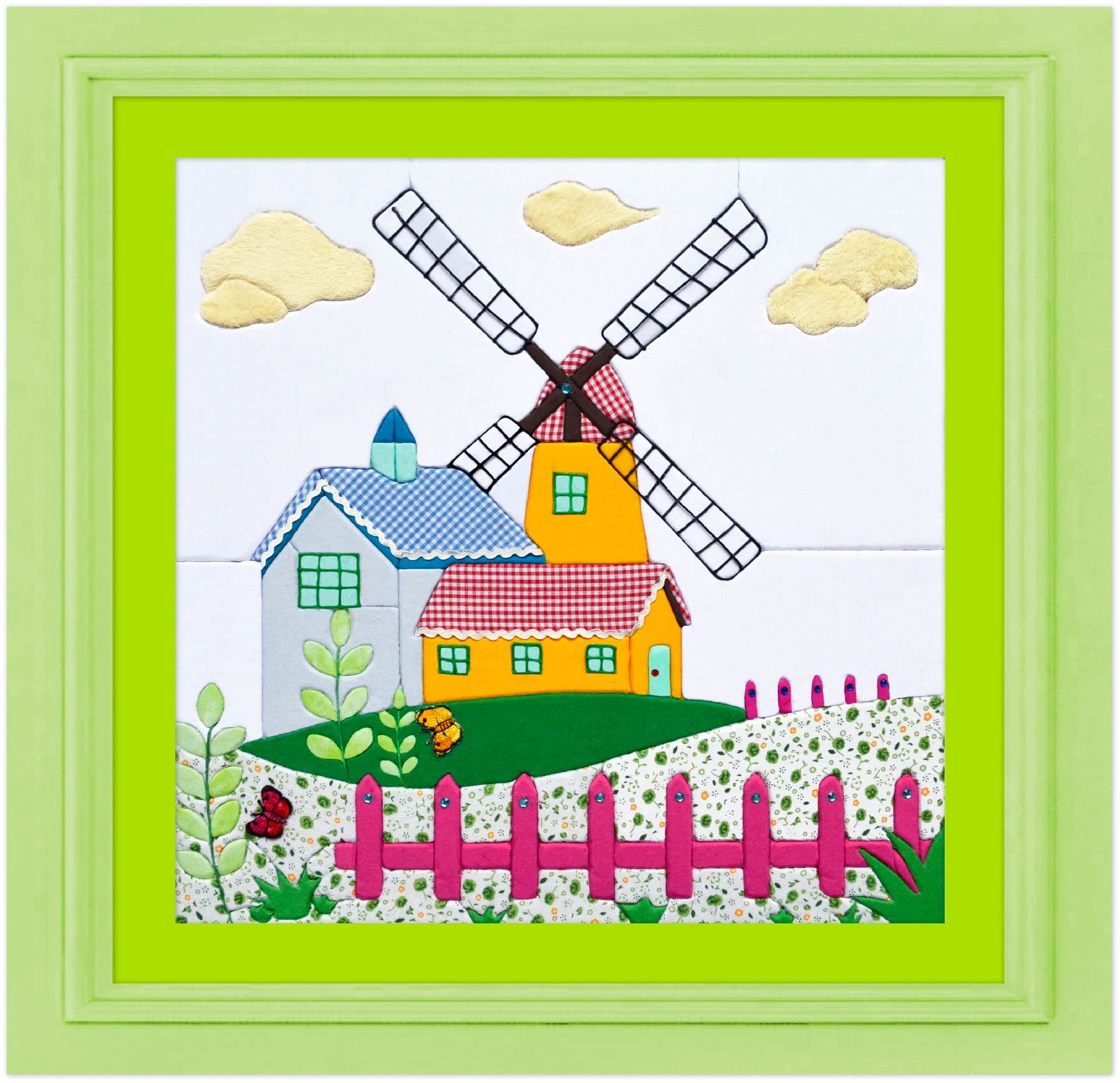 Hot Item Latest Patchwork Photo Collage Frame Easy Diy Canvas Painting