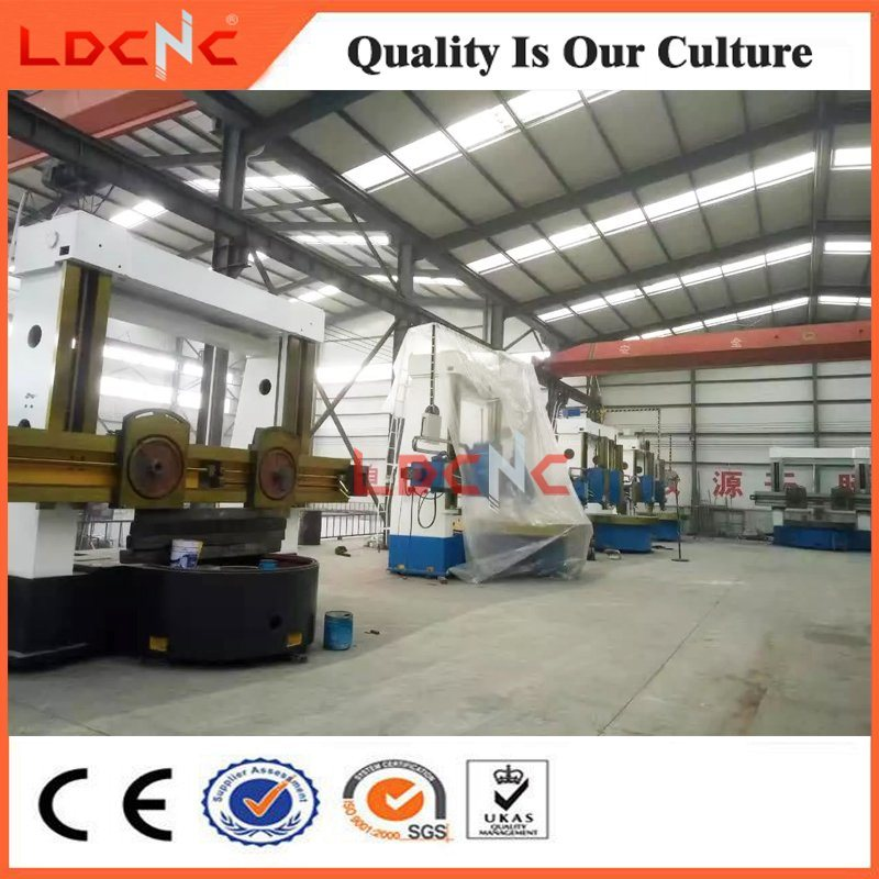 Ck5120 China Light Duty Single Column CNC Vertical Metal Turning Lathe