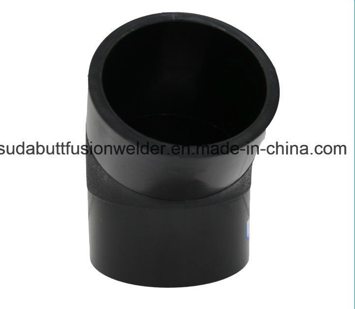 HDPE Pipe Fitting 45 Degree Elbow pictures & photos