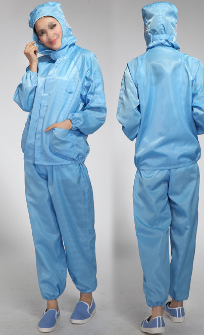 how to wash esd smock