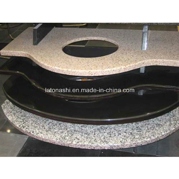 Natural Black Granite / Marble Stone Vanity Top/Countertop for Kitchen, Bathroom
