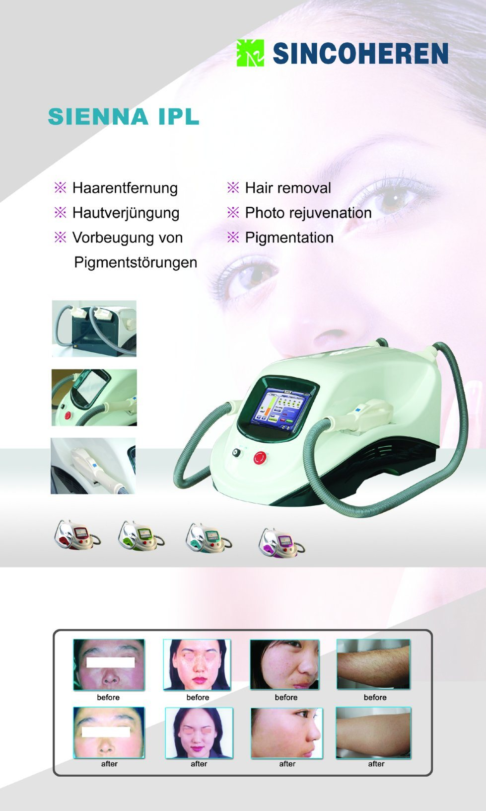 IPL Shr Mini Hair Removal Device/FDA, Tga CE pictures & photos