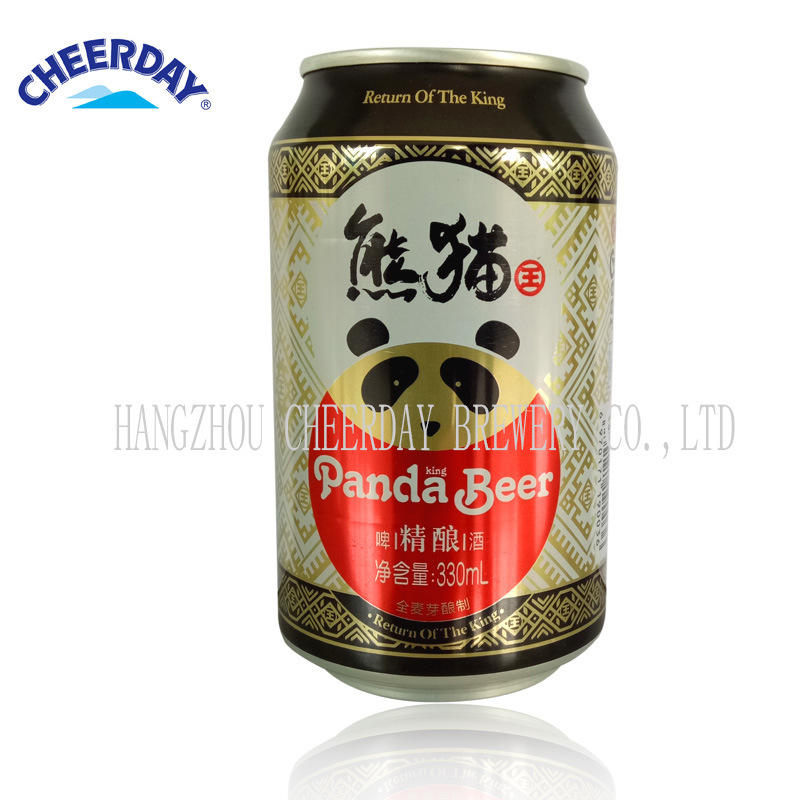 Abv3.3% 9.5 Plato Panda King Brand Canned Beer pictures & photos
