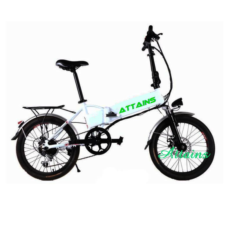 Lithium Battery One Second Folding Electric Bike Foldable Electric Bike