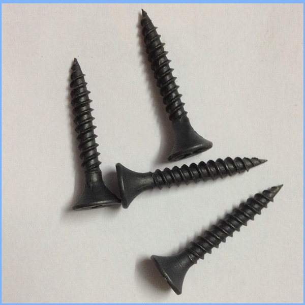 Black Phosphated Bugle Head DIN7505 Drywall Screw pictures & photos