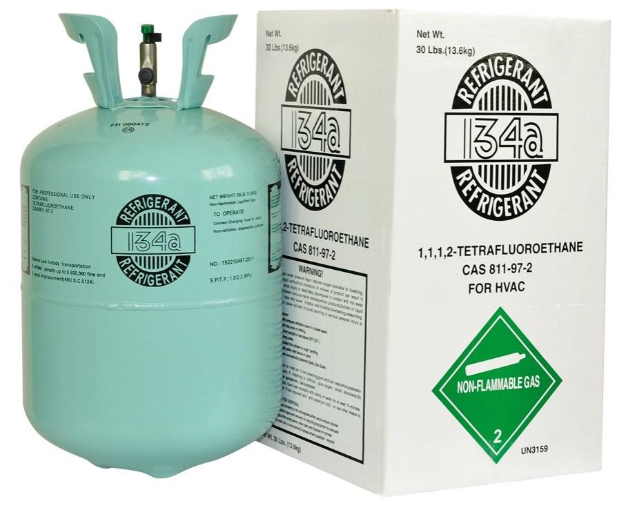 China 30lb R134a China Refrigerant Refrigarant Gas R134a