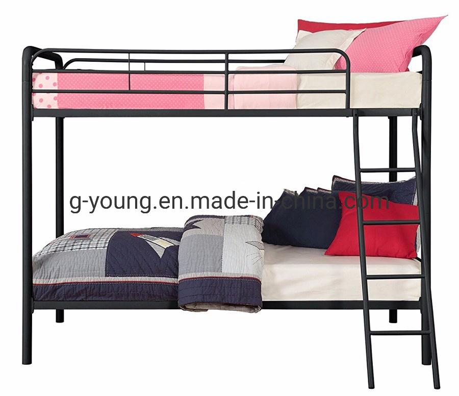 China School Heavy Duty Metal Frame Bunk Beds With Ladder China Bunk Bed School Metal Bed