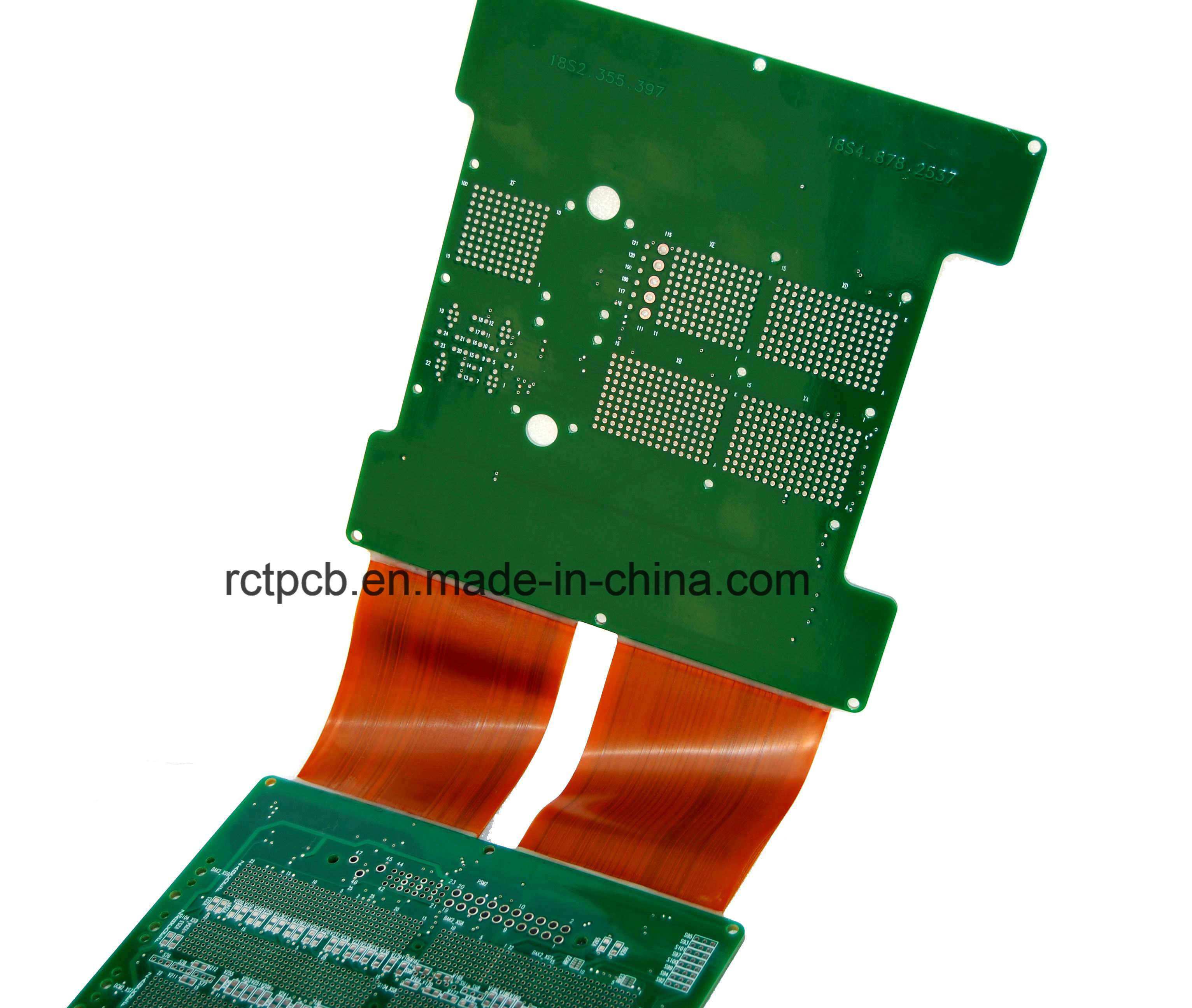China 4 Layer Rigid Flex Pcb With High Quality Led Backlight Keyboard Assembly Pcba Circuit Board