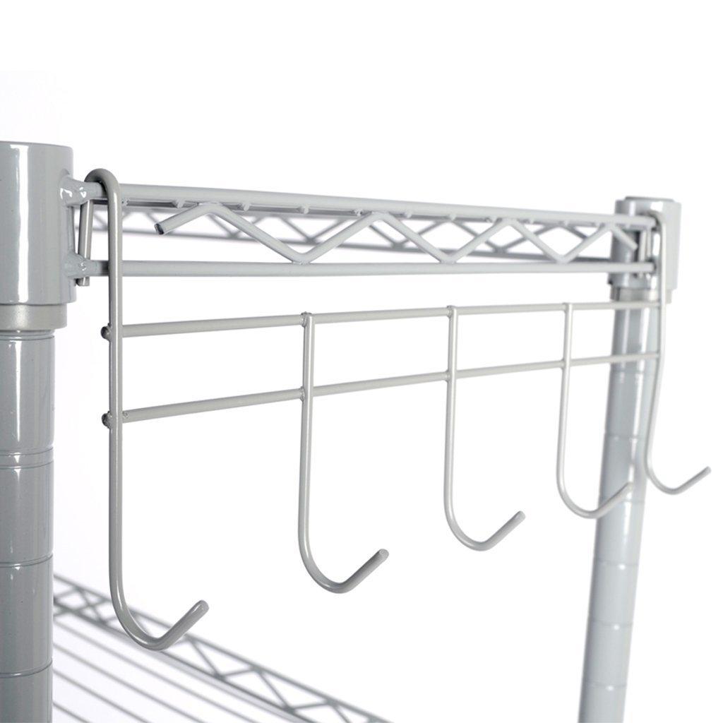 China Supreme 5 Tiers Corner Rack Unit Bathroom Laundry