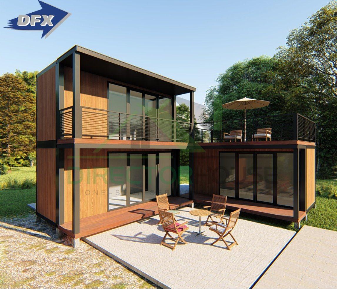 China Luxury Prefabricated Prefab Light Steel Frame Houses ... Steel Frame Homes Near Me