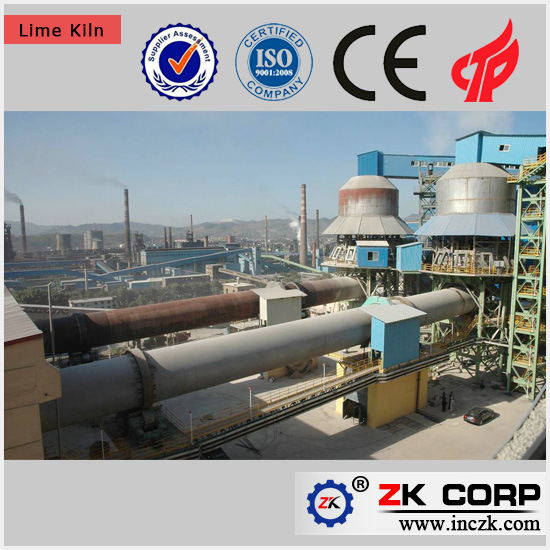 Active Lime Production Process Lime Rotary Kiln Quick Lime