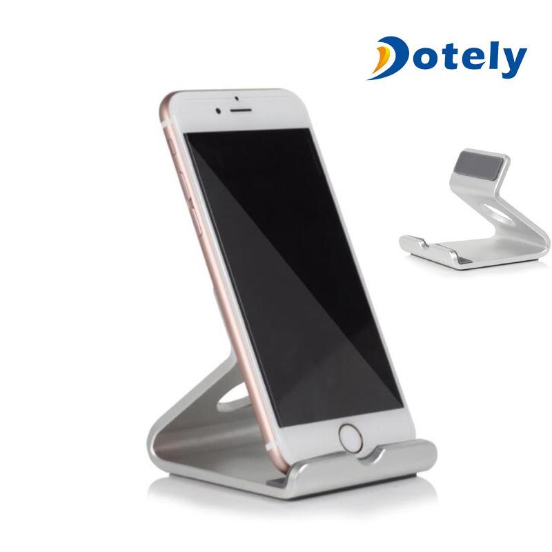 Metal Aluminium Alloy Mobile Phone Holder Cellphone Tablet Desk Mount Stand