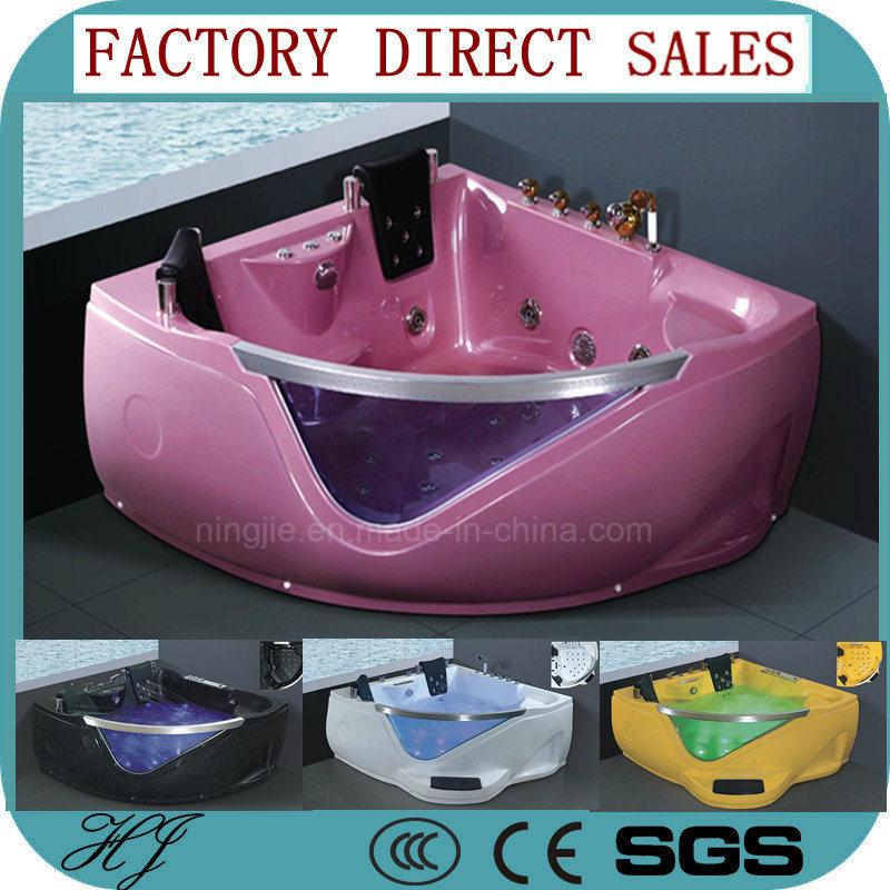 China Hotal Massage Hot Tub Bathtub Whirlpool Bath Tub (5205 ...