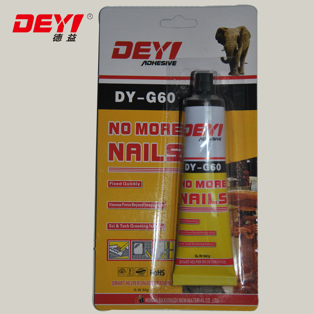 China No More Nail Glue for Bonding Metal Sheet Adhesive - China No ...