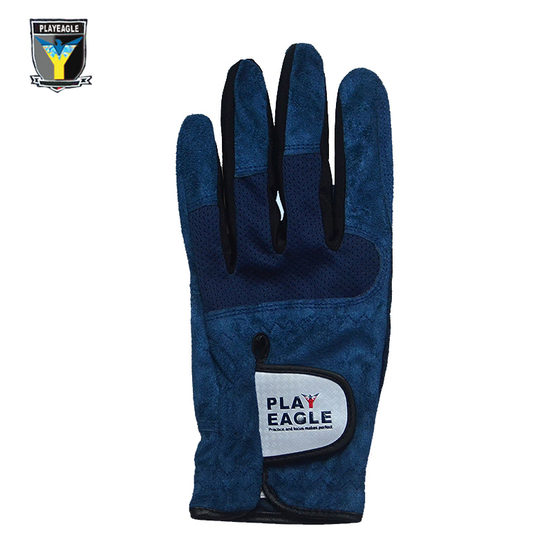 Playeagle Golf Gloves Mens Microfiber Leather Gloves Golf Left Hand and Right Hand Glove pictures & photos