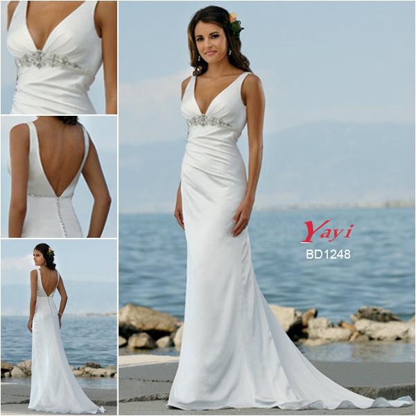 China Bridal Wedding Dress, Beach Wedding Dress (BD1248) - China ...