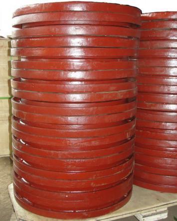 [Hot Item] Ductile Iron Backing Ring for HDPE Flange Stub