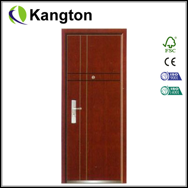 China Steel Apartment Building Entry Doors Entrance Door China